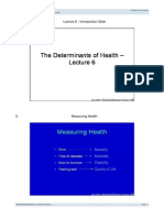 Epid_Determinants of Health