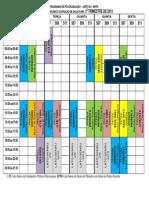 DISTRIBUIÇÃO DE DOCENTES E DISCIPLINAS POR SALA PARA TRIMESTRE DE 2013-3