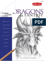 Drawing Made Easy Dragons Fantasy