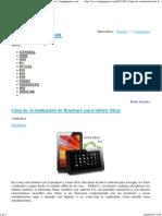 Guía de Actualización de firmware para tablets Eken