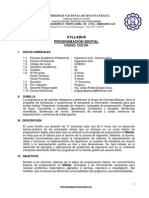 SYLLABUS PROGRAMACIÓN DIGITAL