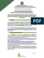 Edital No 268-2013_manifestacao de Interesse_3a Chamada Lista de Espera_sisu 2013