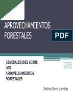 Generalidades Aprovecahamiento Forestal