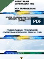 Pengoperasian Pbs Sek. Rendah 2012