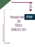 POLARIZACION-ELECTRICA
