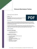 Primavera Risk Analysis Training