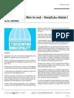 Www.iol.Co.za Ratepayers r1 9bn in Red Kwazulu Natal Iol News