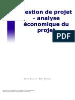 Analyse économique du projet