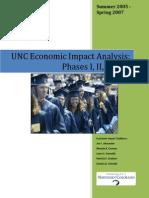UNC Economic Impact Analysis