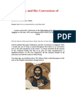 Orthodoxy and the Conversion of England