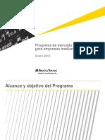 Pres Programa de Mercado de Deuda Para Empresas Medianas