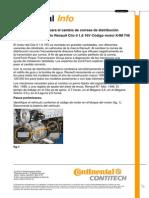 CORREA DISTRIBUCION RENAULT CLIO