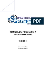 Manual de Procesos y Procedimientos v4.0