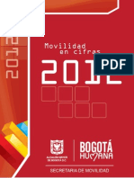 cifras movilidad bogota2012