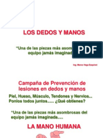 Canpaña de prevencion sobre accidentes de manos-MINLAB