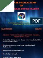 Bhilwara BSL Thermal Power Plant Summer Training Ppt