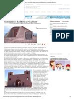 Catamarca_ La Ruta del Adobe _ Información General _ El Ancasti de Catamarca