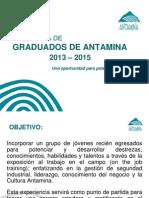 Programa de Graduados 2013