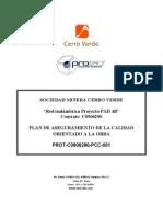 PROT-C0906290-PCC-001 , Plan de Calidad