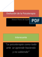 EVOLUCIÓN DE LA PSICOTERAPIA