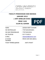 Muhkam Mutasyabih ( Final )
