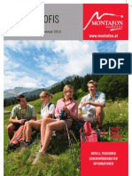 Montafon für Reiseprofis 2010