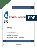 MEF-02 - Elementos Unidimensionais