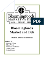 Bloomingfoods Campaign Proposal