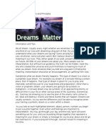Dream Interpretations and Principles