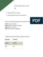 Spanish- Gender Nouns Part 1.docx
