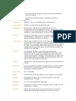 Diccionario de Percusion