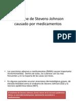 Síndrome de Stevens-Johnson causado por medicamentos