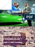 Chapter 4 Recruiting Salesman..