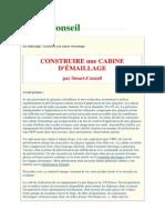 CABINE D'ÉMAILLAGE