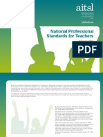 AITSL National Professional Standards for Teachers