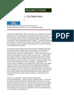 Achebe Entrevista