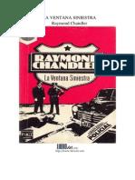 Chandler, Raymond - La Ventana Siniestra