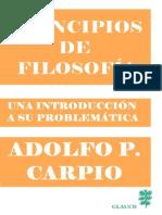 Carpio, Adolfo P - Principios de Filosofia