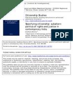 Sharma Aradhana Citizenship studies
