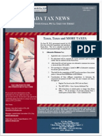 Newsletter- Act 40-2013 -More Taxes
