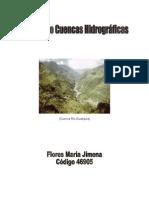 Maria j. Manejo de Cuencas Hidrograficas