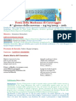 Festa Della Madonna Di Caravaggio MESSA Trad (2)