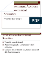 Goa Government Auctions State Government Securities