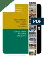 Signature Portable Fencing & Crowd Control