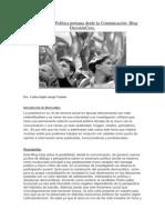 Adolescentes y Política peruana desde la Comunicación- Blog DecisiónCero.