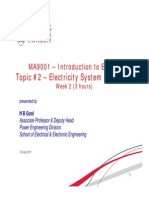 Lecture 2- Electricity System in Society