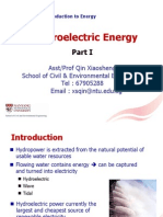 Lecture 8- Hydroelectric Energy