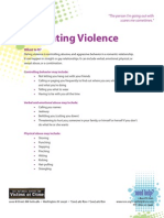 Dating Violence - Help for Teenage Victims of Crime