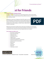 Just for Friends - Help for Teenage Victims of Crime
