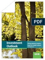 """SE-Banken,  Investment Outlook, Sep 17, 2013. """"Rising optimism inspires hope for a bright autumn""""."""